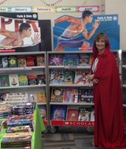 Photo of Sherry at the book fair