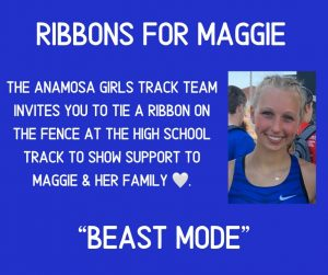 Ribbons for Maggie Flyer