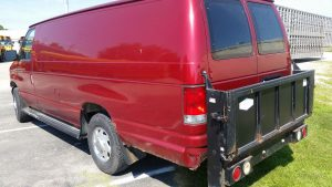1999 Ford E350 Maxi Cargo Van Rear