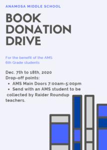 Book Donation Drive